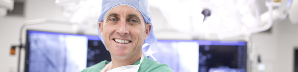 Doctor in Operating Theatre